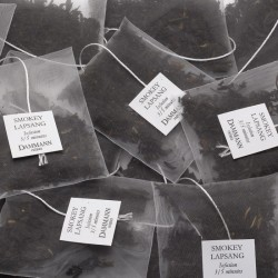 Sachets de thé noir fumé Smokey Lapsang Dammann Frères