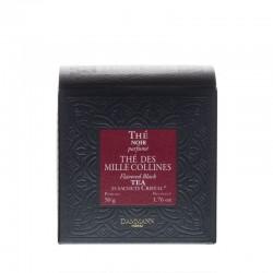 Boite de thé noir des Mille Collines Dammann Frères