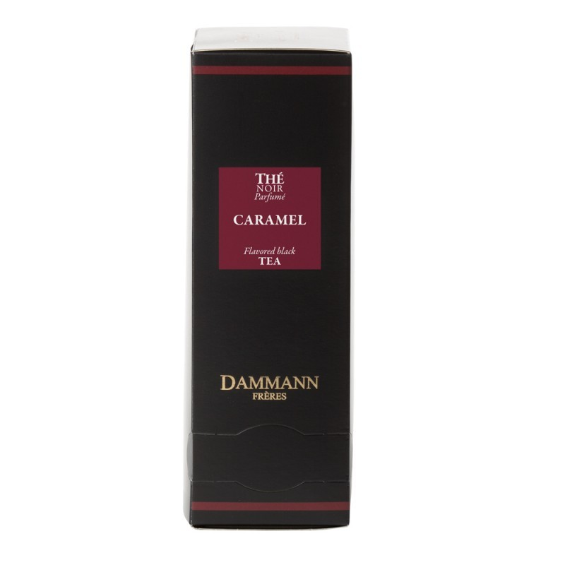 Boite thé noir Caramel Dammann Frères