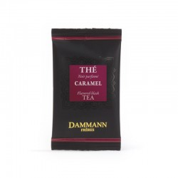 Sachet suremballé thé noir Caramel Dammann Frères