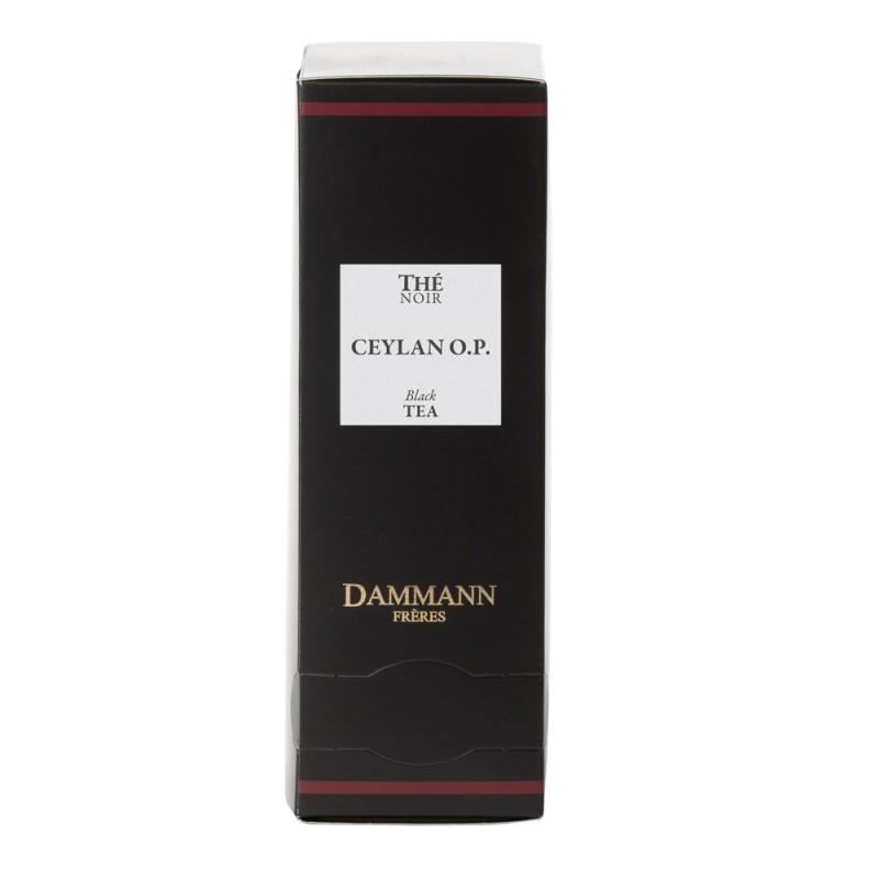 Boite thé noir Ceylan OP Dammann Frères