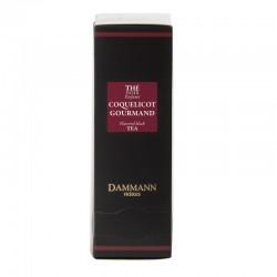 Boite thé noir Coquelicot Gourmand Dammann Frères