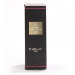 Boite thé noir Grand Gout Russe Dammann Frères
