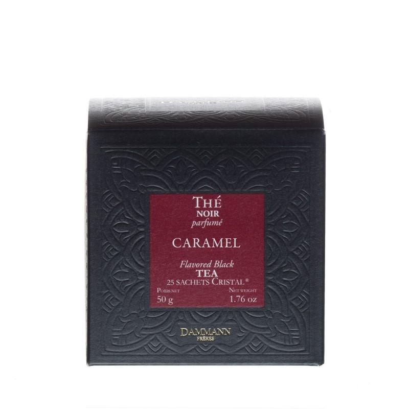 Boite de thé noir Caramel Dammann Frères