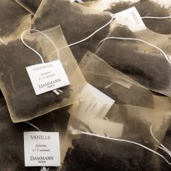 Sachets de thé noir Vanille Dammann Frères