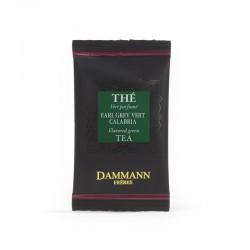 Sachet suremballé thé vert Earl Grey Calabria Dammann Frères