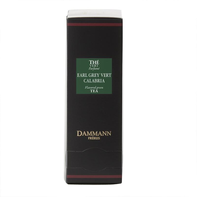 Boite thé vert Earl Grey Calabria Dammann Frères