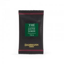Sachet suremballé thé vert Jaune Lemon Dammann Frères