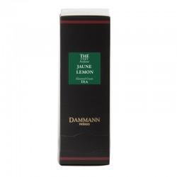 Boite thé vert Jaune Lemon Dammann Frères