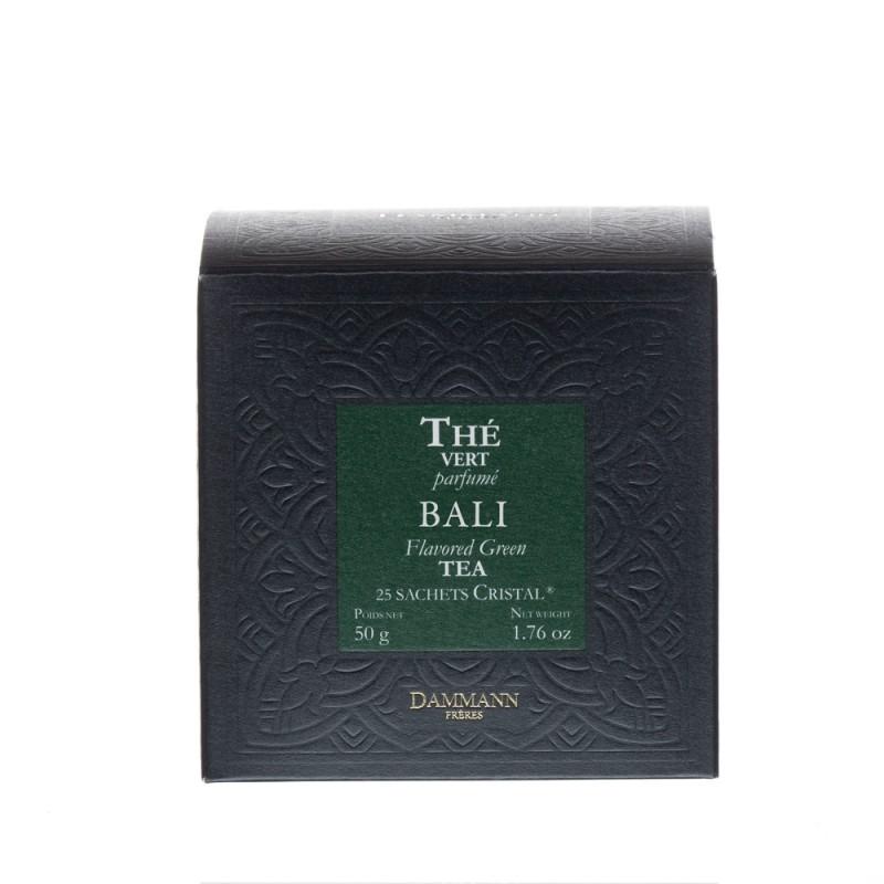 Boite de thé vert Bali Dammann Frères