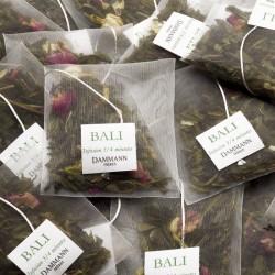 Sachets de thé vert Bali Dammann Frères