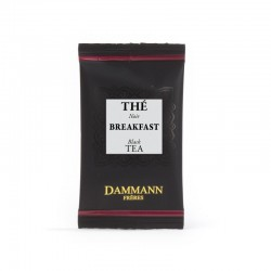 Sachets suremballé thé noir Breakfast Dammann Frères