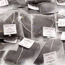 Sachets de thé noir Earl Grey Yin Zhen Dammann Frères