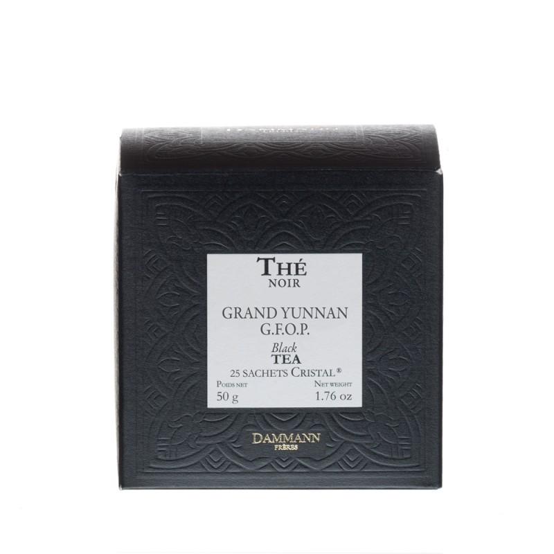 Boite de thé noir Grand Yunnan GFOP Dammann Frères