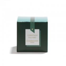 Boite de thé vert Christmas Tea Dammann Frères
