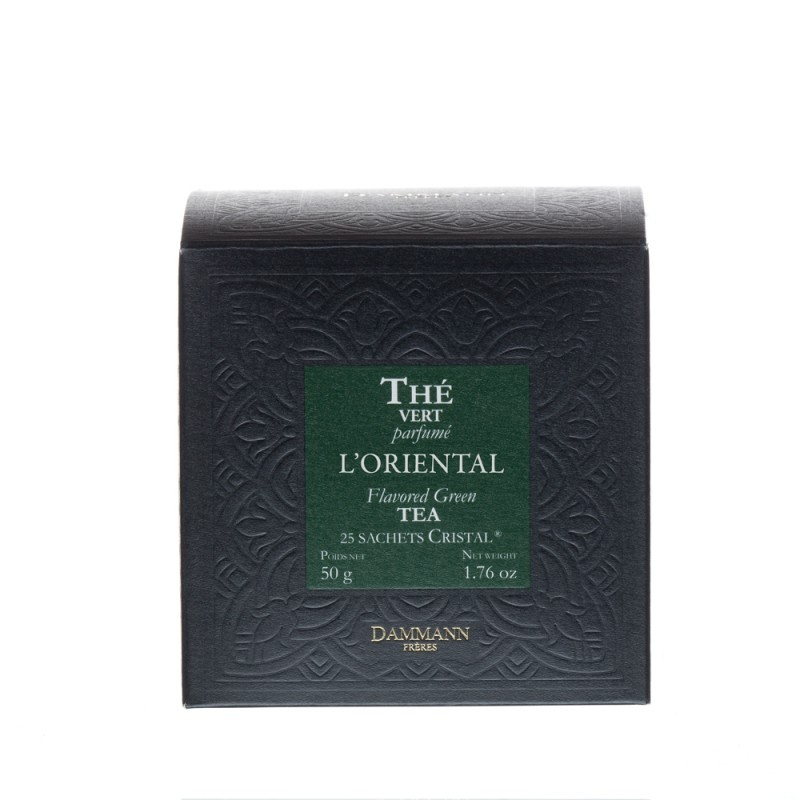Boite de thé vert L'Oriental Dammann Frères