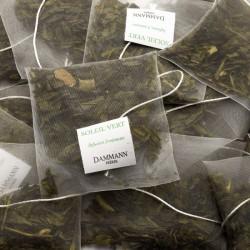 Sachets de thé vert Soleil Vert Dammann Frères