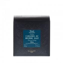 Boite de thé Oolong Caramel au beurre salé Dammann Frères