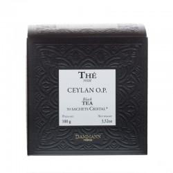 Boite de thé noir Ceylan OP Dammann Frères